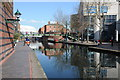 SP0686 : The Worcester and Birmingham Canal near its terminus by Philip Halling
