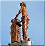 J3272 : The Village sculptures, Belfast (1) by Albert Bridge