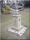 NZ0516 : The Armillary Sphere Memorial by Stanley Howe