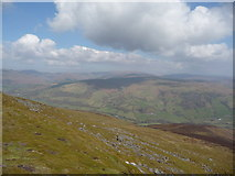 SO2718 : Part of the Black Mountains from the Sugar Loaf summit by Jeremy Bolwell