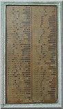 NS3421 : GSWR War Memorial at Ayr railway station by Thomas Nugent