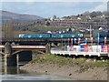 ST3188 : Bridges across the River Usk, Newport by Robin Drayton