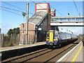 NS3527 : Train for Glasgow by M J Richardson