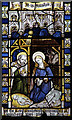 SP6081 : St Nicholas, South Kilworth - Stained glass window by John Salmon