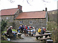SE6697 : Walkers rest at the Daffy Caffy by Pauline E