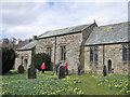 SE6797 : St Mary's in the daffodil season by Pauline E