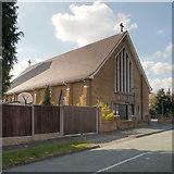 SJ5187 : St Pius X Roman Catholic Church, Widnes by David Dixon