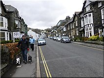 NY3704 : Church Street, Ambleside by Kenneth  Allen