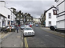 NY3704 : Market Place, Ambleside by Kenneth  Allen