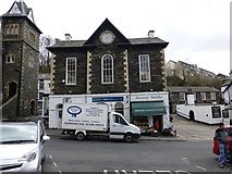 NY3704 : Former Market Hall, Ambleside by Kenneth  Allen