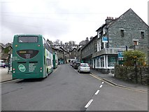 NY3704 : Cromptston Road, Ambleside by Kenneth  Allen