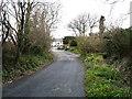 SW7950 : A lane near Marazanvose by David Purchase