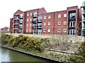 SJ6086 : New flats east of Chester Road swingbridge by Christine Johnstone