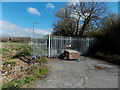 ST3487 : Blocked Langditch Lane, Newport by Jaggery