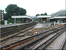 TQ4109 : Lewes railway station, East Sussex by Nigel Thompson
