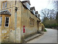 SP0631 : The Victorian  post box at Wood Stanway by Ian S