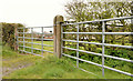J5383 : Two gates, Groomsport by Albert Bridge