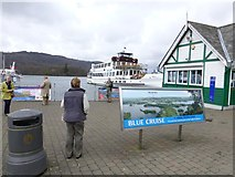 SD4096 : Blue Cruise notice, Bowness-on Windermere by Kenneth  Allen