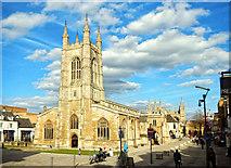 TL1998 : St John the Baptist parish church, Peterborough by Julian Dowse