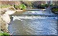 J4569 : Weirs, Enler River, Comber by Albert Bridge