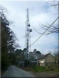 SP4802 : Radio Mast, Boars Hill by Des Blenkinsopp