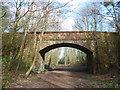 NT4676 : Rural East Lothian : Seatonhill Bridge Over The Longniddry-Haddington Branch Line by Richard West