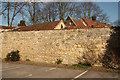 SK9772 : Close Wall by Richard Croft
