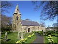 NU0049 : St Peter's Church, Scremerston by Russel Wills