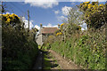 SW4527 : Bridlepath at Bre Winney by Elizabeth Scott