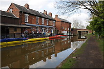 SO9466 : The Boat and Railway, Stoke Prior by Philip Halling