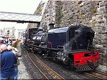 SH4862 : Beyer-Garratt at Caernarfon by Andrew Abbott