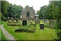 SK2260 : Elton church and churchyard by Graham Horn