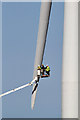 NT8468 : Maintenance work at Drone Hill Wind Farm by Walter Baxter