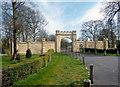 SP7004 : North Gate, Thame Park by Des Blenkinsopp