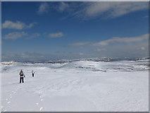 NO1978 : Snowy plateau by Alan O'Dowd