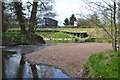 SP0666 : Bend of the River Arrow below Old Forge Drive, Redditch by Robin Stott
