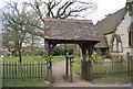 TQ5551 : Lych gate, St Margaret's Church by N Chadwick