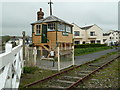 SS4730 : Instow signal box by Chris Allen