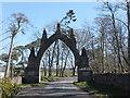NT5848 : Pyatshaw Archway by Barbara Carr