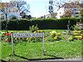 TQ2167 : Flowerbed next to Amberwood Rise by Marathon
