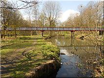 SD7009 : River Croal, Dobson Bridge by David Dixon