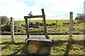 NS2907 : Stile over Fence on the Kildoon Circuit by Billy McCrorie
