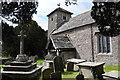 SO4110 : Tregare church by Philip Halling