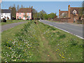 TL9228 : Flower Lined Ditch, Fordham by Roger Jones