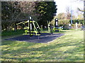 TM3876 : Exercise equipment at Basley Park by Adrian Cable