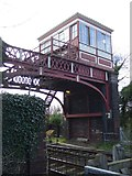NZ1164 : Signal box, Wylam Station by JThomas