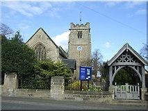 NZ1164 : Church of St. Oswin, Wylam by JThomas