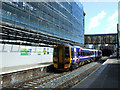 NT2473 : Haymarket railway station by Thomas Nugent