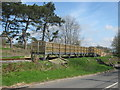 NZ1531 : Train halt at Witton-le-Wear for the Weardale Railway by peter robinson
