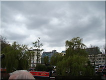 TQ2681 : View of 3 Sheldon Square from the Grand Union Canal at Little Venice by Robert Lamb